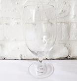 Fleur de Lis Ale Glass