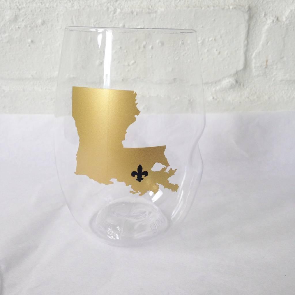 LA FDL Wine Glasses