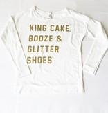 King Cake, Booze, Glit
