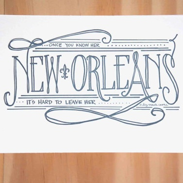 New Orleans 8x10