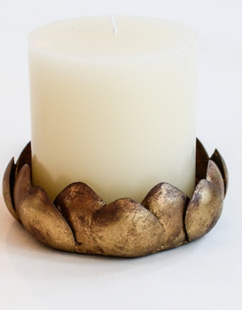 "6"" Gold Magnol Drip"