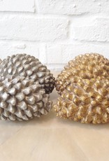 "7"" Resin Pine Cone"