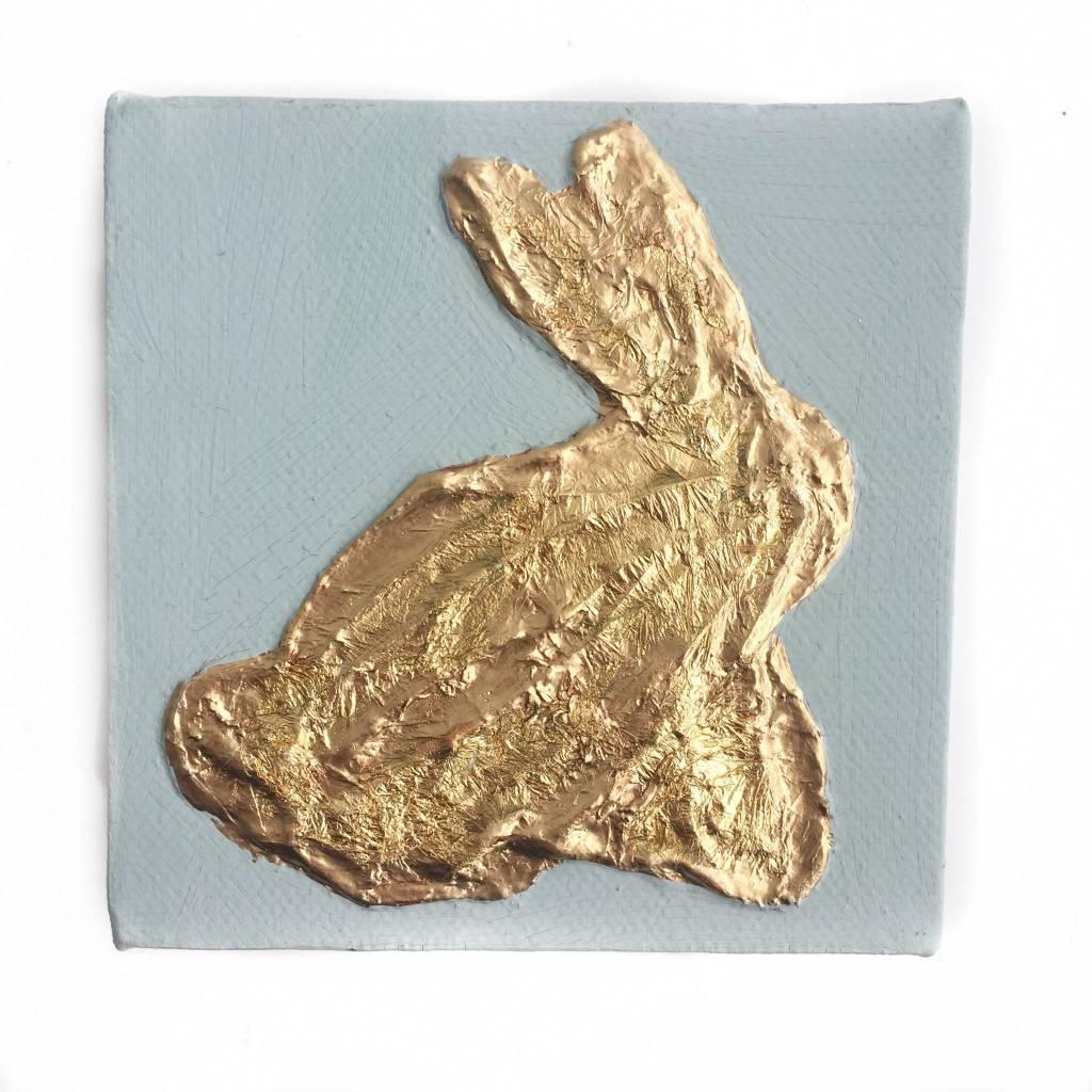 4x4 Gold/Blue Bunny