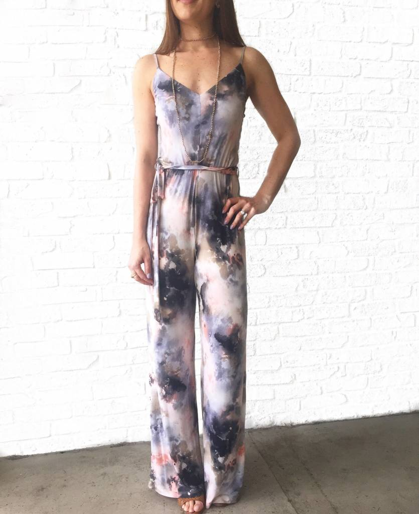To Die For Pink Jumpsuit