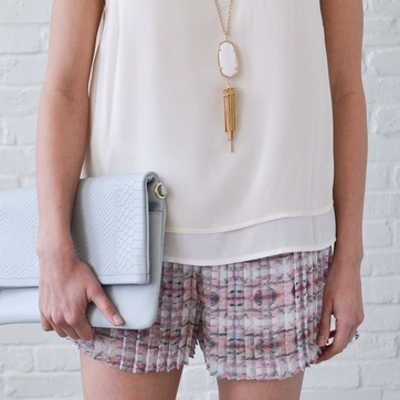 Coral Creeper Shorts