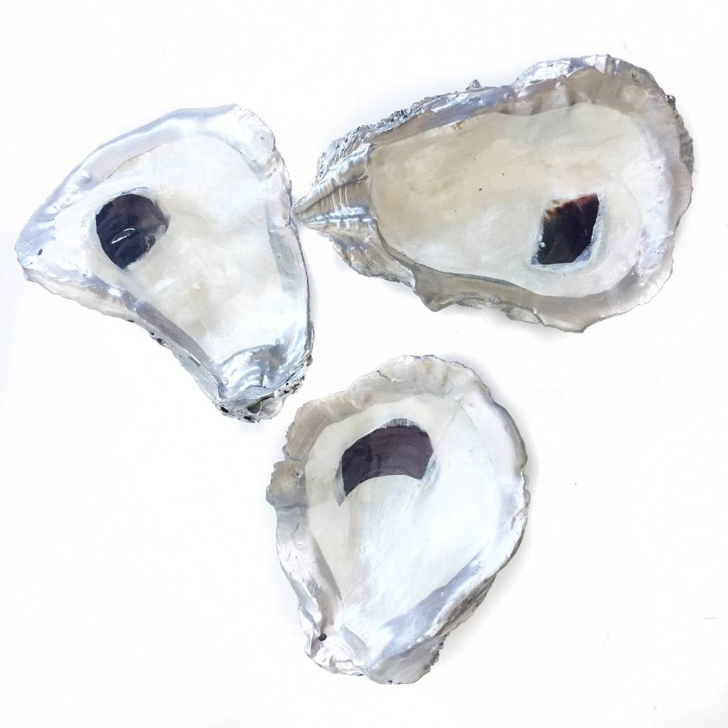 Silver Oyster Dish