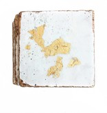 White/Gold Coasters