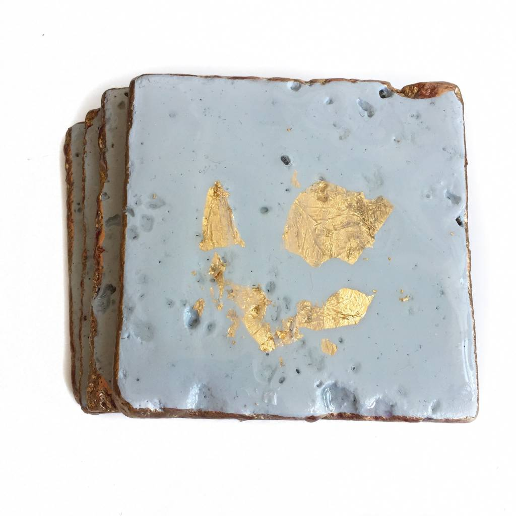 Blue-Gray/Gold Coasters
