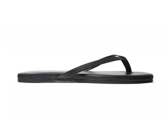 Matte Black Flip Flop
