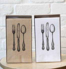 Fork, Knife, Spoon Dinner Napkins