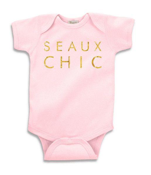 Seaux Chic Onesie