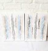 11x14 Blue Neutral Abst