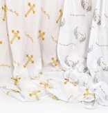 """""""Bless This Baby"""" 2-Pack Swaddle set"""