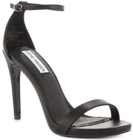 Black Stecy Heel