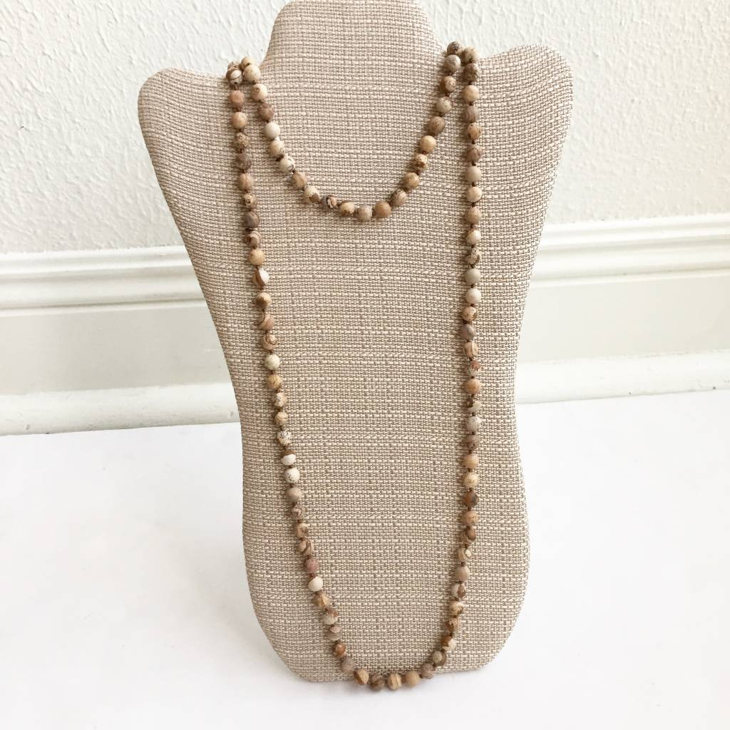 Long Wrap Beaded Necklaces