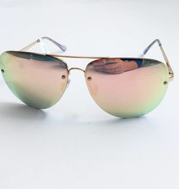 Muse Gold/Pink Sunglasses