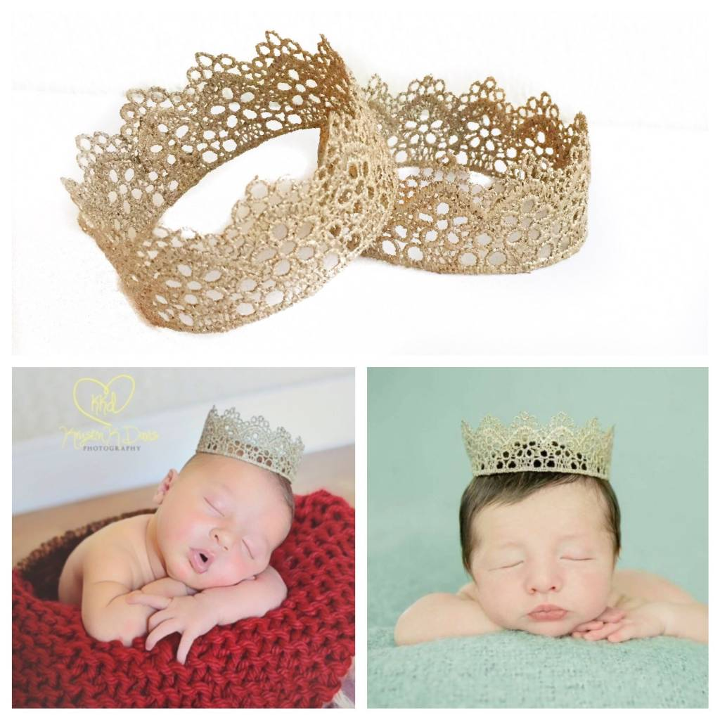 Newborn Lace Crowns