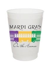 Mardi Gras Ave-Frost Flex Cup