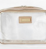 Astor Crossbody-Clear/Nude