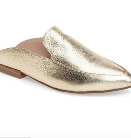 Gold Metallic Mule
