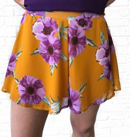 LSU FLORAL SHORTS