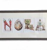 "Cajun ""NOLA"" Framed Artwork"