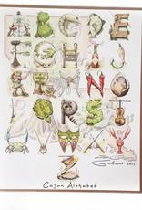 Cajun Alphabet Print
