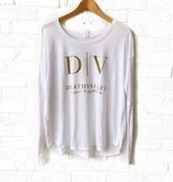 Death Valley White Long Sleeve