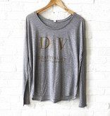 Death Valley Grey Long Sleeve