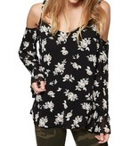 Sanctuary Roxie Cold Shoulder Top