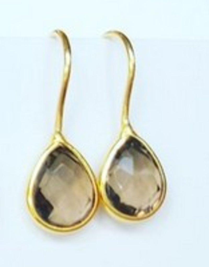Petite Gemstone Drop Necklace