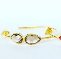Gemstone Earring Hoop