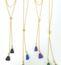 Tassel Wrap Necklace