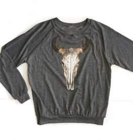 Buddylove Grey Bullhead Sweatshirt