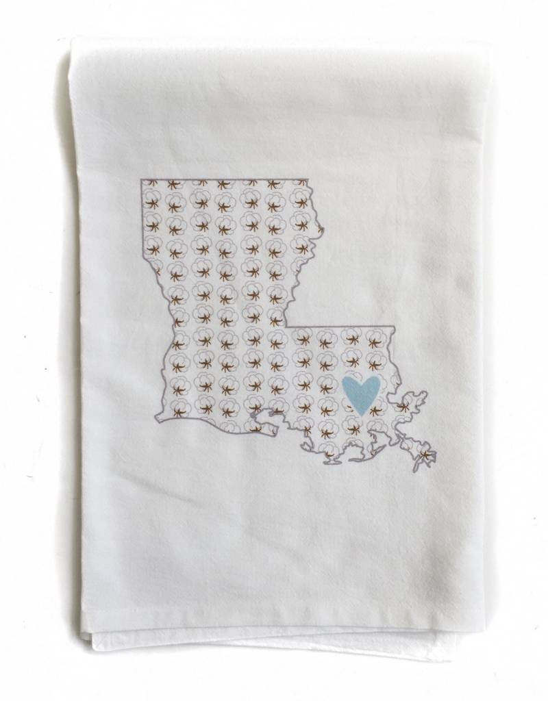 LA State w/ Cotton Hand Twl