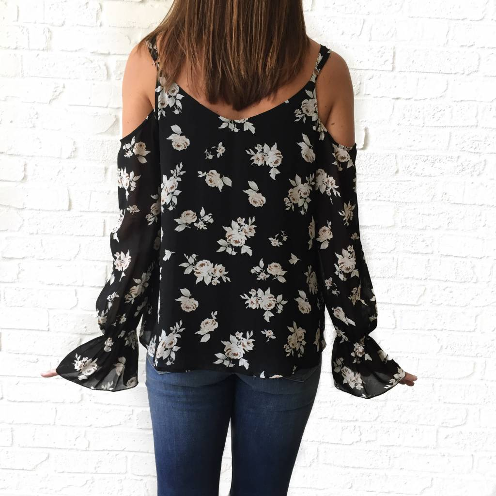 Roxie Cold Shoulder Top