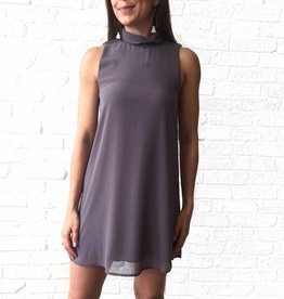 Opal Grey S/L Paige Dress