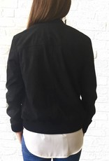 Black Motto Jacket