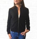 Black Motto Jacket