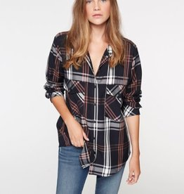 Plaid Boyfriend Shirt