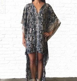 Buddylove Snakeskin Hi Lo Dress