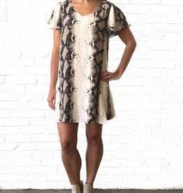 Buddylove Snakeskin Tunic Dress