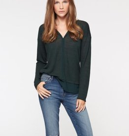 Sanctuary Hanna L/S Tee Meadow Green