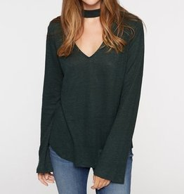 Sanctuary L/S Choker Tee Meadow Green