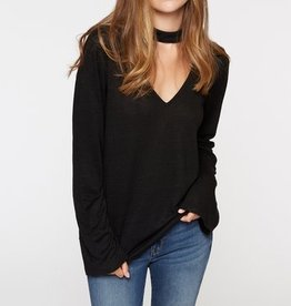 Sanctuary L/S Choker Tee Black