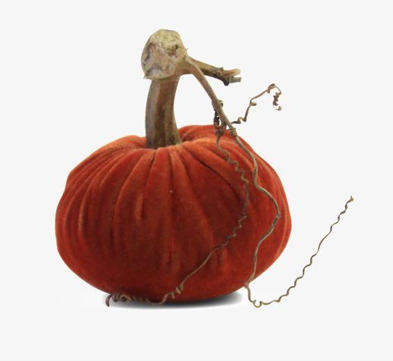 """3"""" Velvet Pumpkin"""