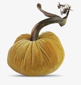 """Plush Pumpkin 3"""" Velvet Pumpkin"""