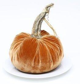 """Plush Pumpkin 10"""" Velvet Pumpkin"""