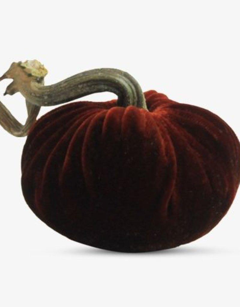 """4"""" Velvet Pumpkin"""