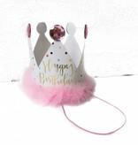Slant Birthday Crown